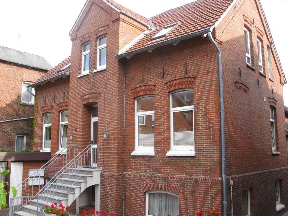 Außenaufnahme Altstadtvilla Borkum