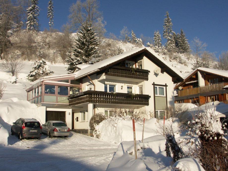 Ferienhaus Allgäu im Winter
