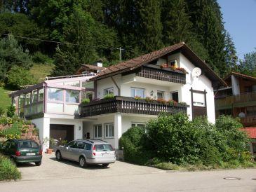 Ferienwohnung im Dachgeschoss im Ferienhaus Allgäu