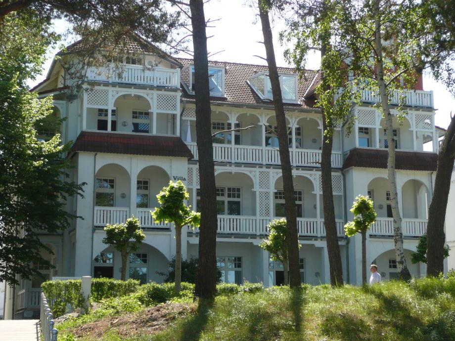 Villa Strandidyll vom Strand aus betrachtet