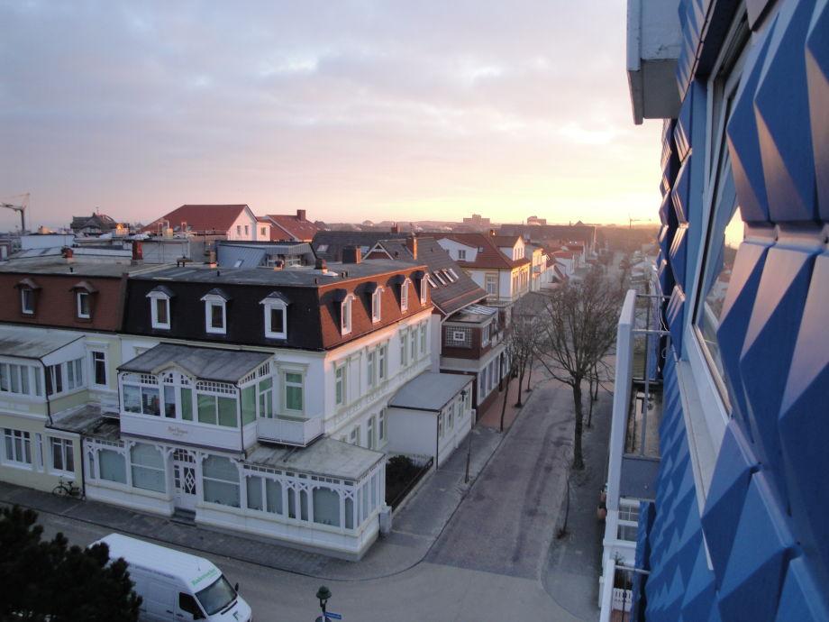 Aussicht vom Balkon (rechts)