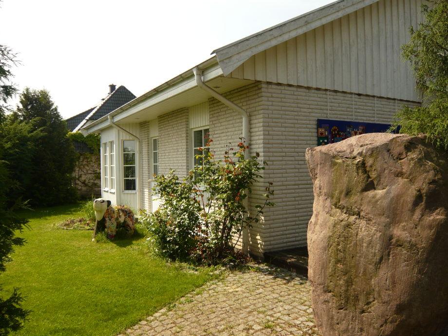 Gästehaus mit dem großen Stein - dem Namensgeber