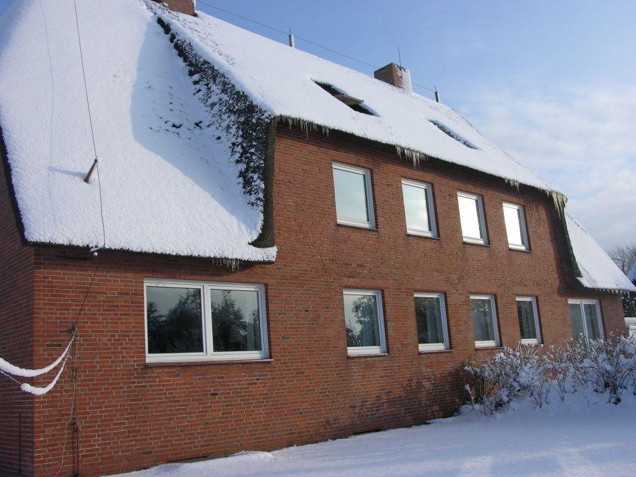 Appartementhaus Süderhörn im Winter