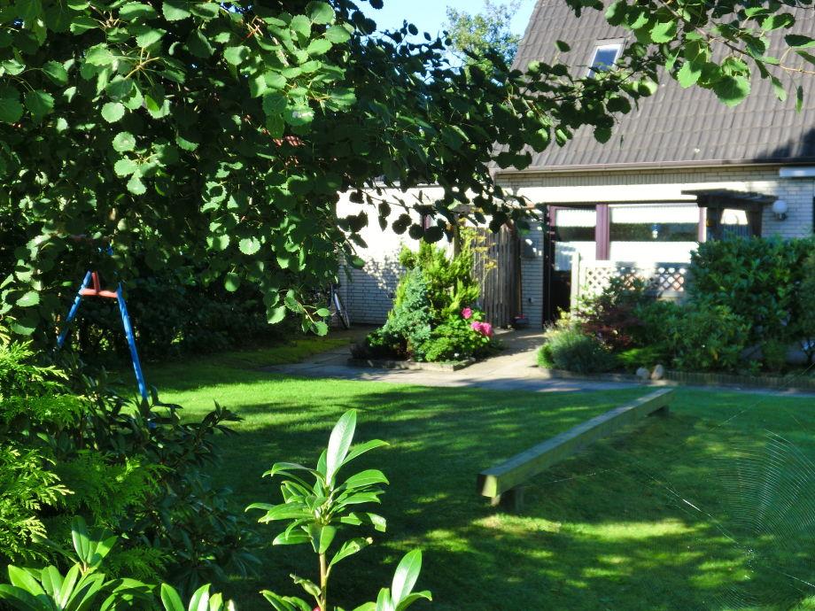 End-Reihenhaus mit Garten