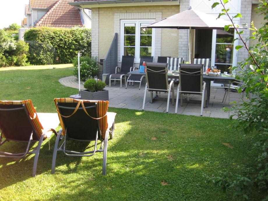 Gepflegter nicht einsehbarer  Garten/Süd- Terrasse