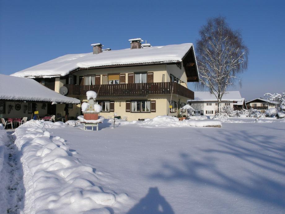 Gästehaus Scheil im Winter