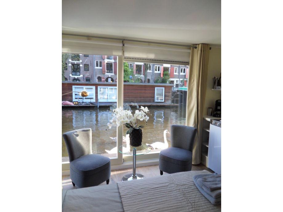 das g ste hausboot amsterdam jordaan netherlands firma the guest houseboat frau patricia. Black Bedroom Furniture Sets. Home Design Ideas