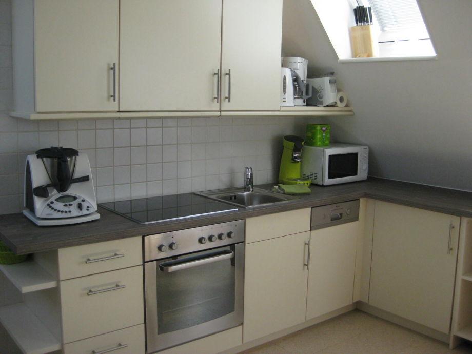 top ausgestattete Küchenzeile