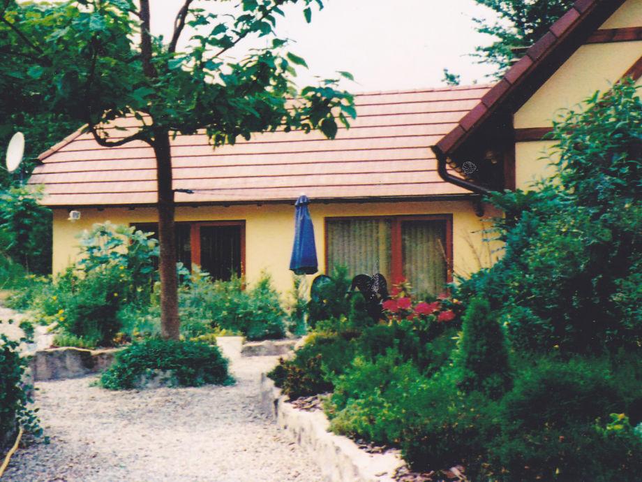 Innenhof mit Blick auf die Ferienwohnung