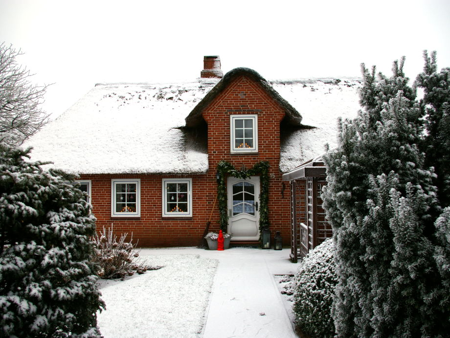 "Ferienhaus ""Klookris 15"" im Winterkleid"