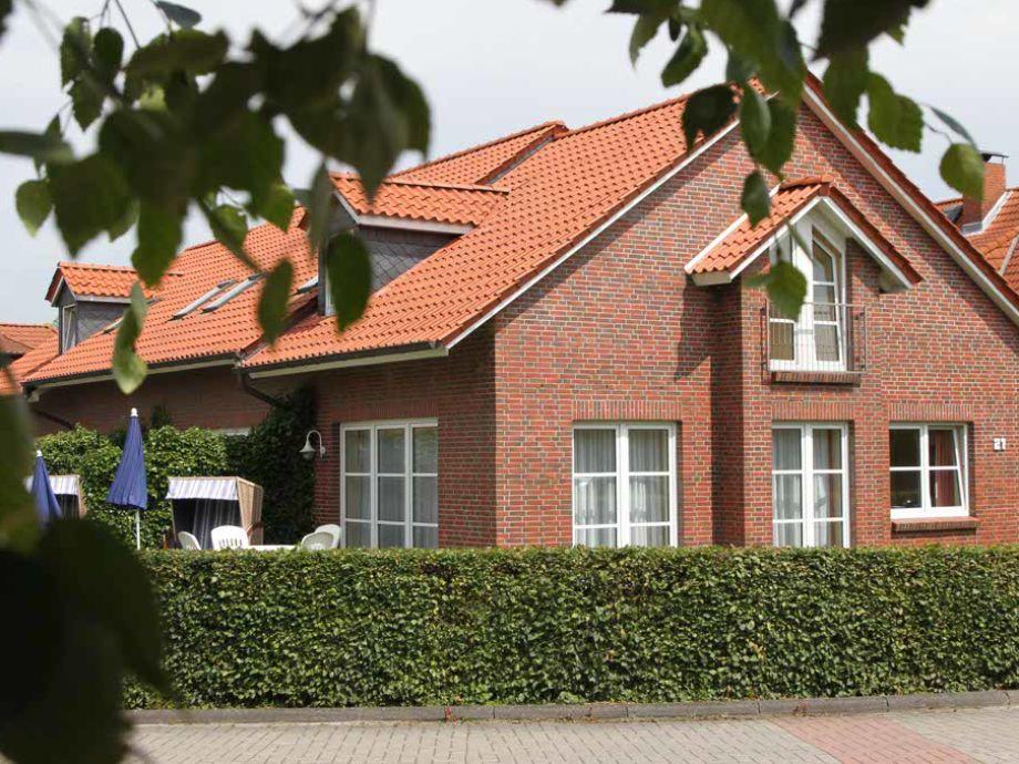 Außenansicht Ferienhaus Jantje Moe