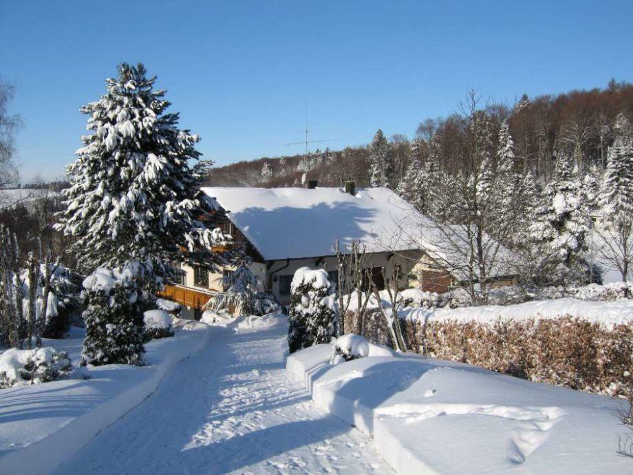 Haus Kallenbach im Winter