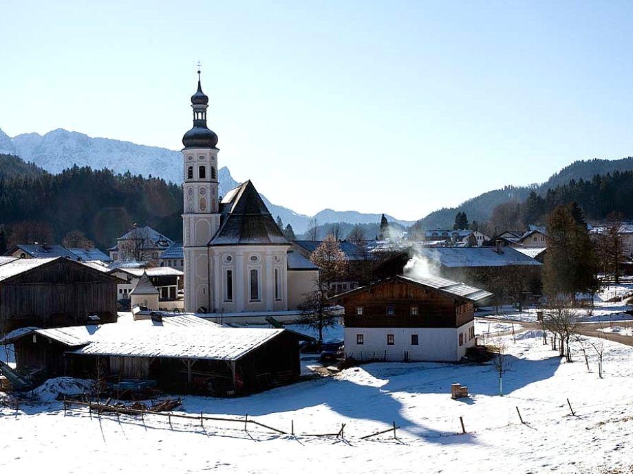 Das Dorf Sachrang