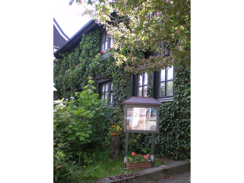 """Das grüne Haus"" - Dachgeschoss Ferienwohnung"