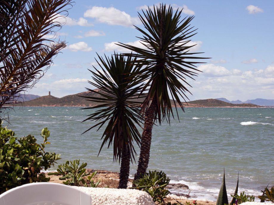 Blick von der Terrasse (Mar Menor)