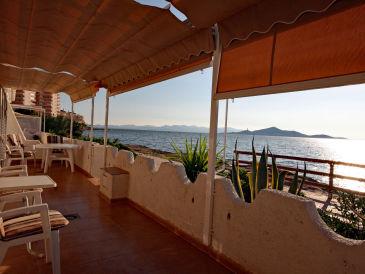 """Ferienhaus Strandbungalow """"V6"""" - direkt am Mar Menor Strand"""