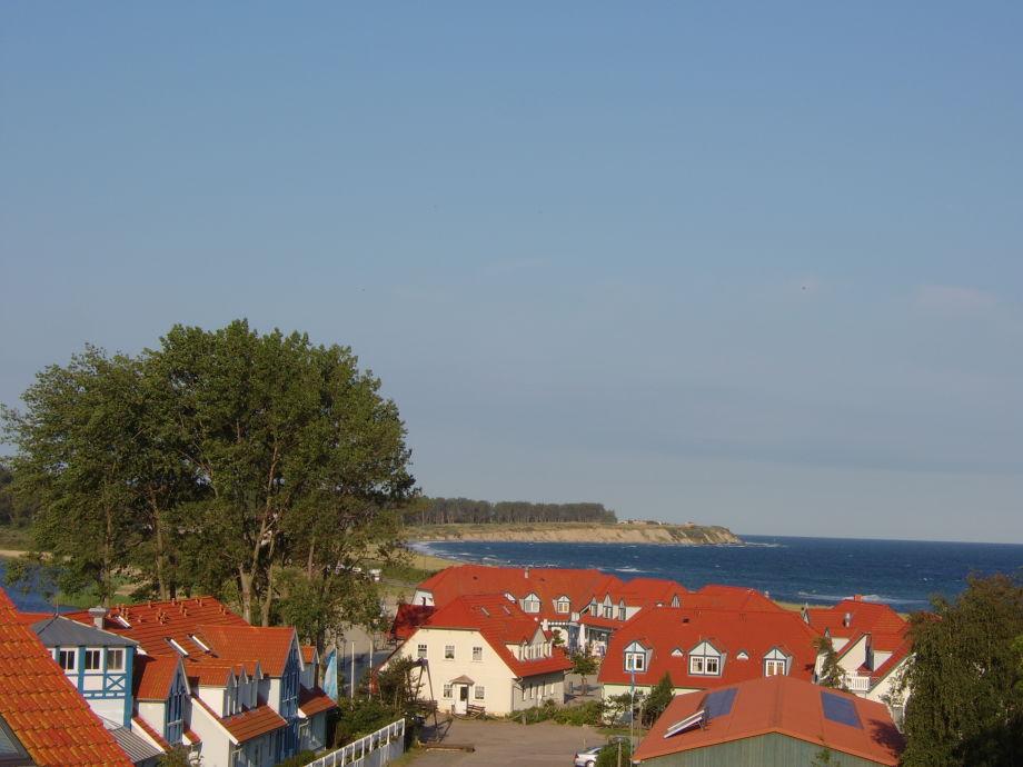 Blick auf die Ostsee und Halbinsel Wustrow