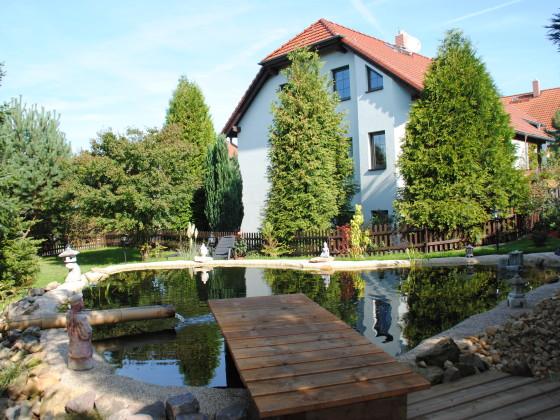 Ferienwohnung am koiteich s chsische schweiz nahe festung for Koiteich bauen