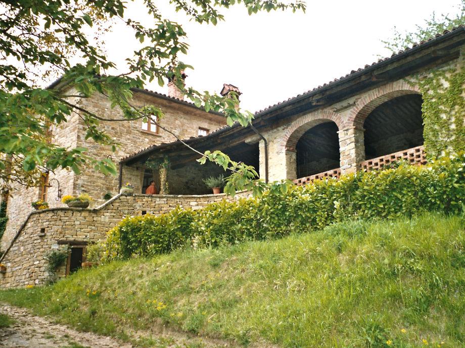 Haus und Veranda auf einen Blick
