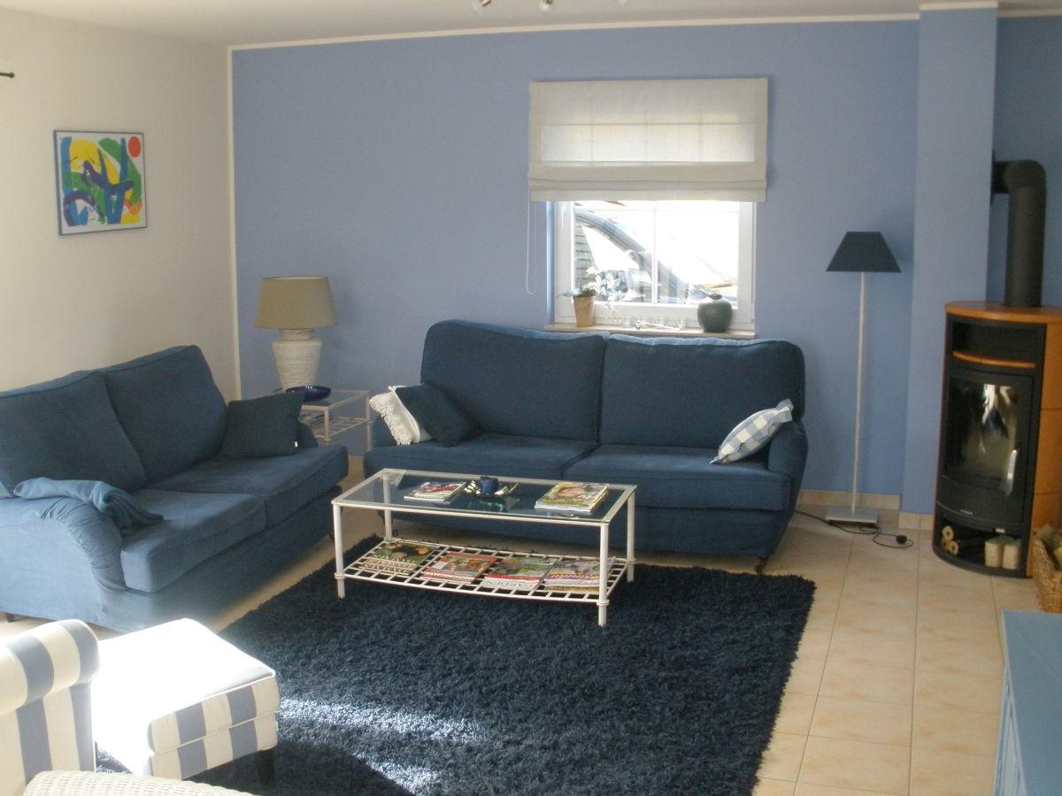 Ferienhaus the golfer 39 s blue fleesensee herr heinz reinsch - Wohnzimmer mit kamin ...