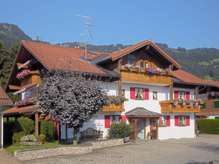 Landhaus Charivari im Sommer