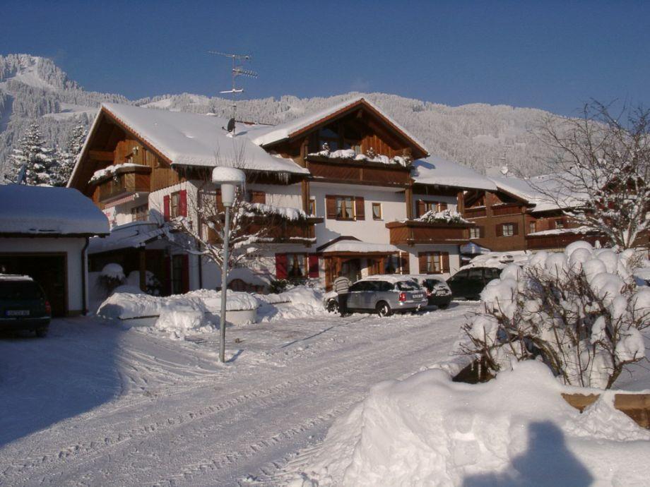 Landhaus Charivari im Winter
