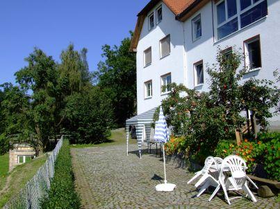 """""""Hübelhaus"""" bei Plothen, im Land der 1000 Teiche."""