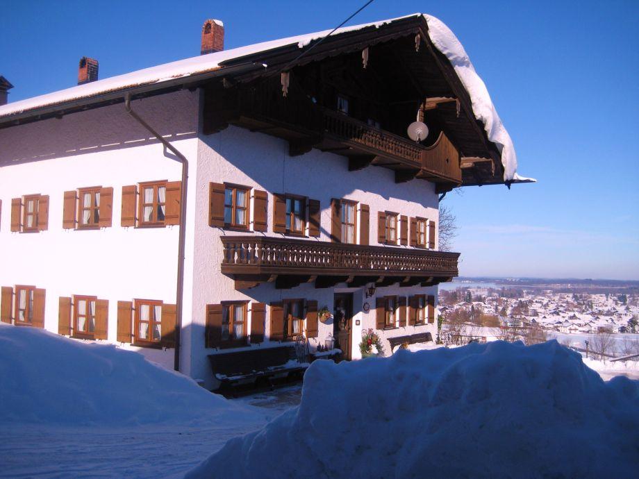 Der Demelhof im Winter