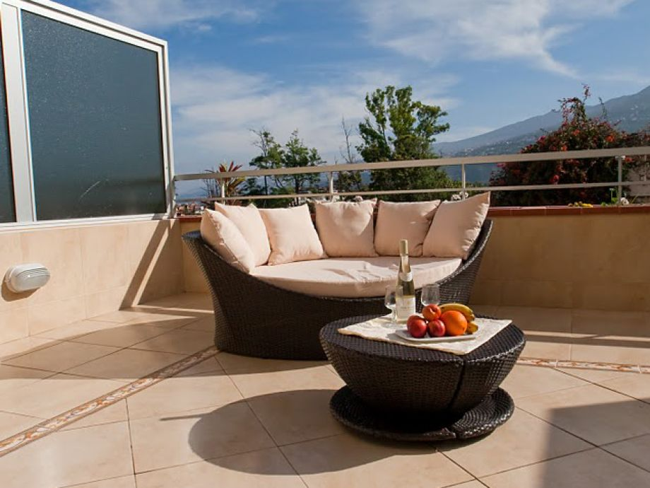 Terrasse – Blick auf Orotavatal