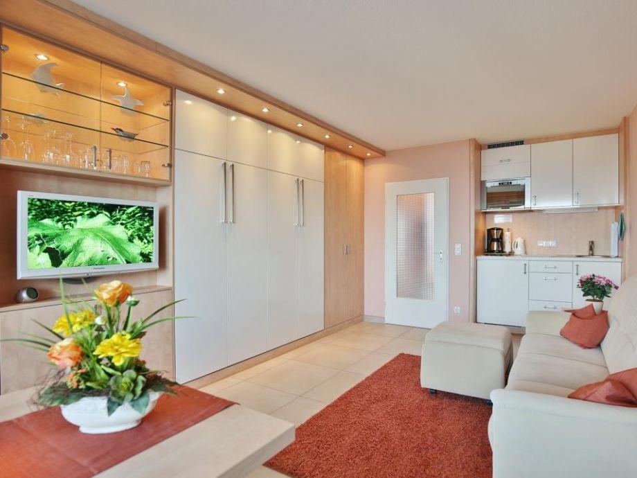 Ausstattung Haus Nautic mit Meerblick