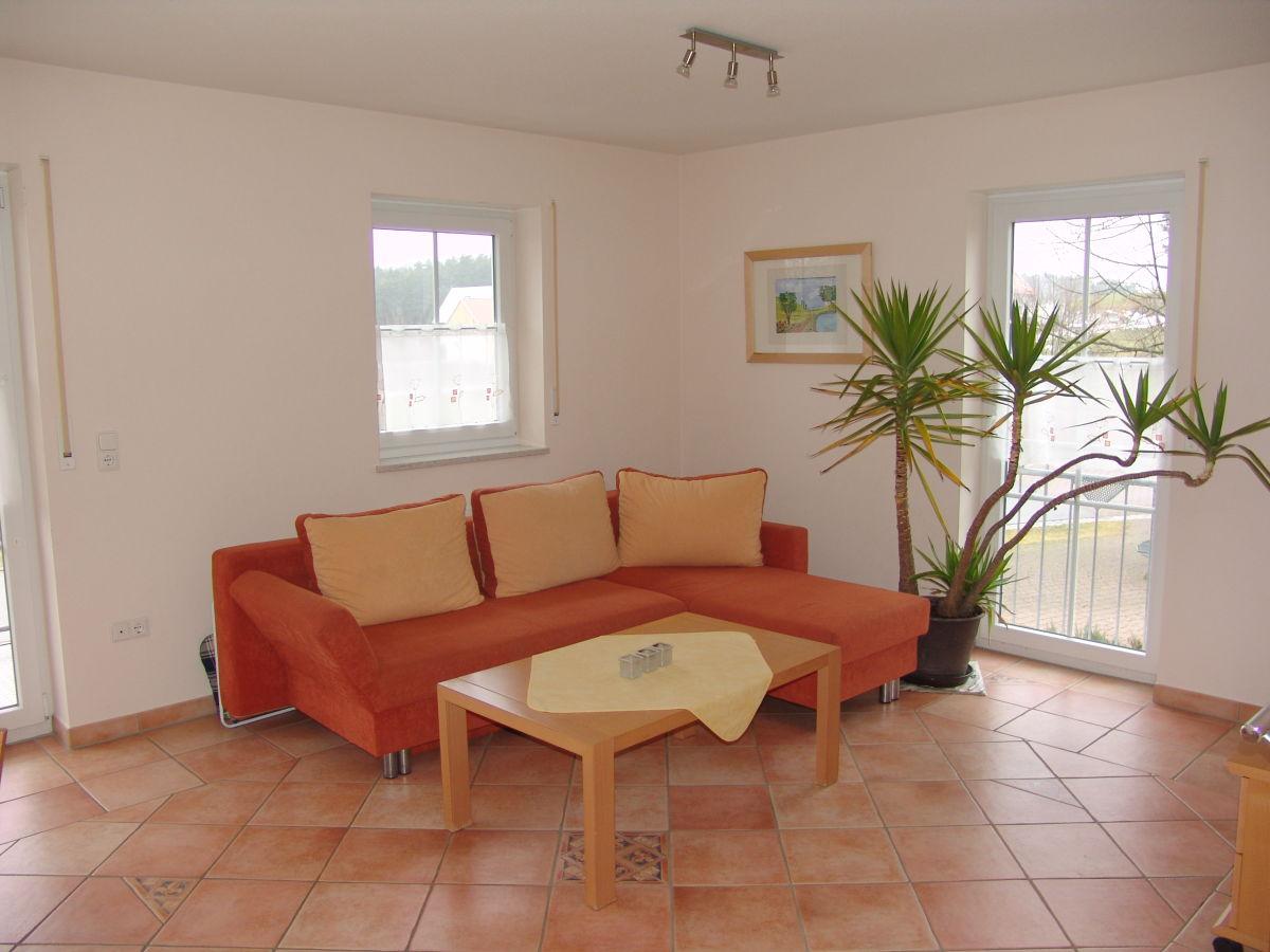 Ferienwohnung die mediterrane im ferienhaus krohe for Wohnzimmer sitzecke