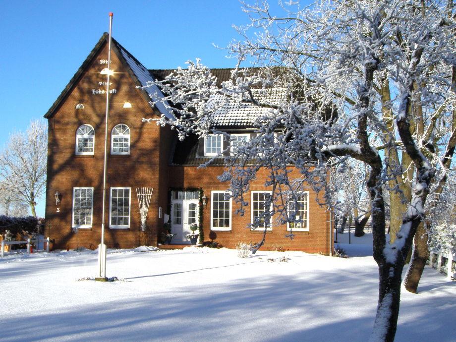 Villa Hohe Luft im Winter