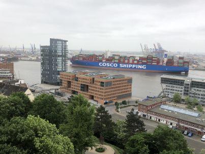 Hamburg-Hafenblick
