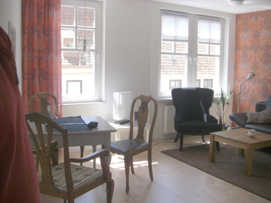 holidayflat number 1-open living area