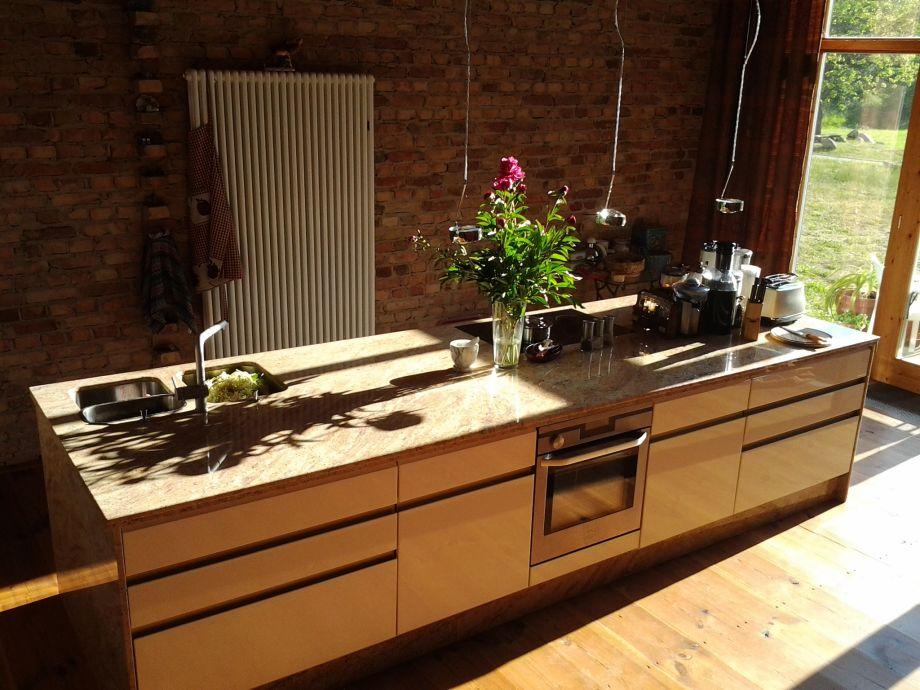 Küchenblock aus Granit