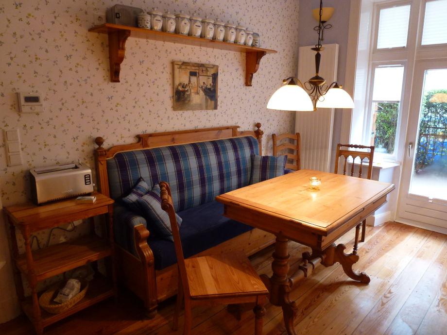 Küche mit Schwedenbank