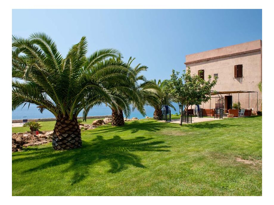 Palmengarten von Casa Natoli
