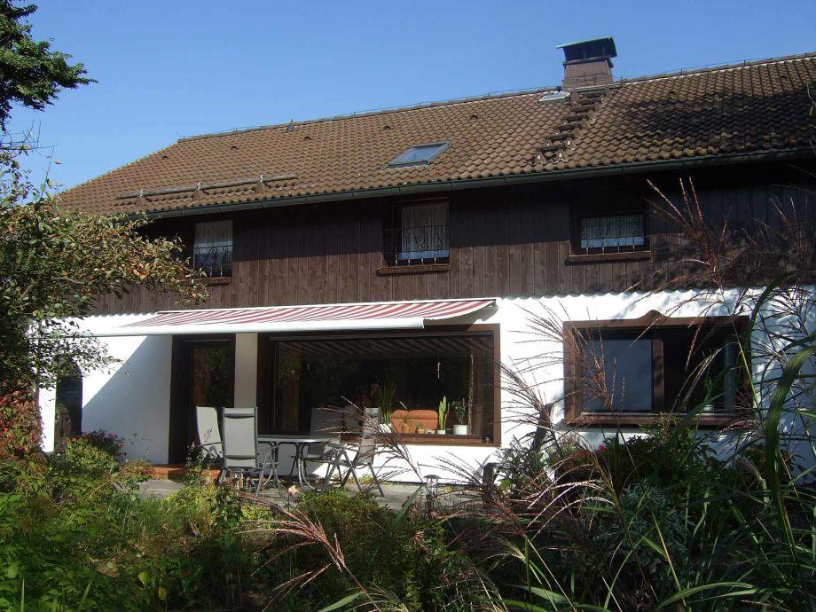 Haus Lange, Südansicht
