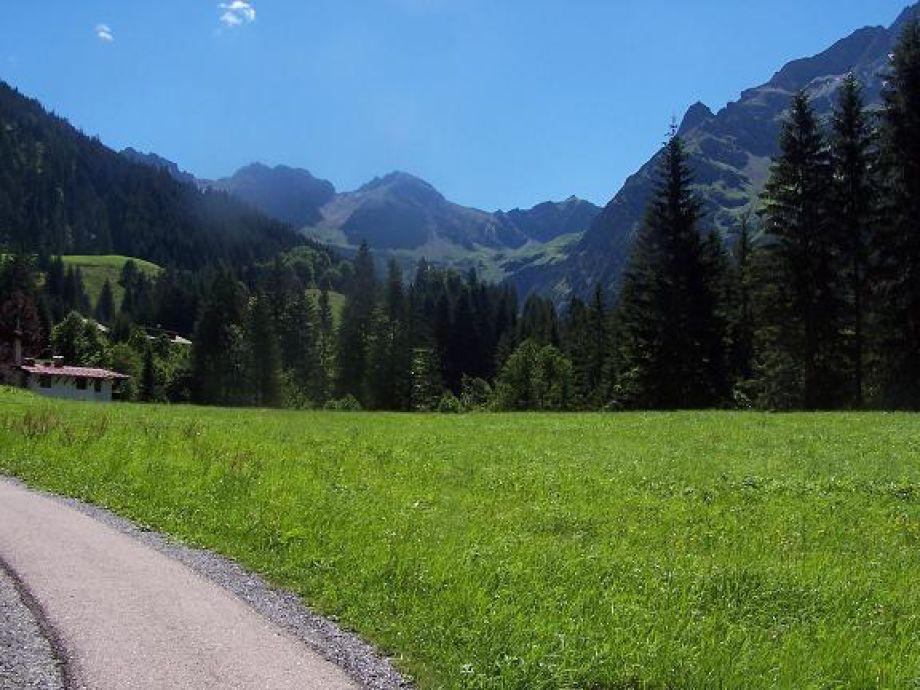 Kleinwalsertaler Landschaft