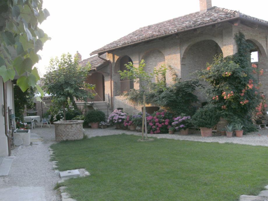 Das Gästehaus auf der Cascina Ornati