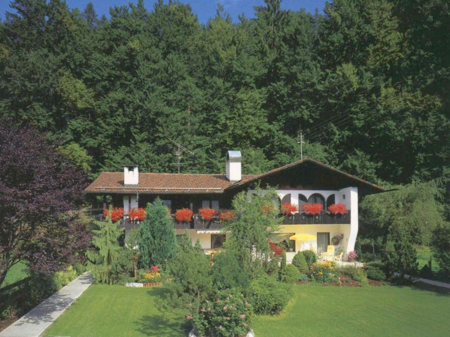 Haus Sebastian im Sommer