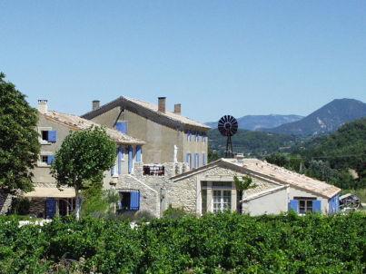 Domaine du Crestet Murier Haus