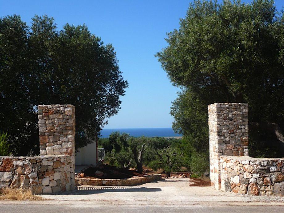Eingang zum Grundstück