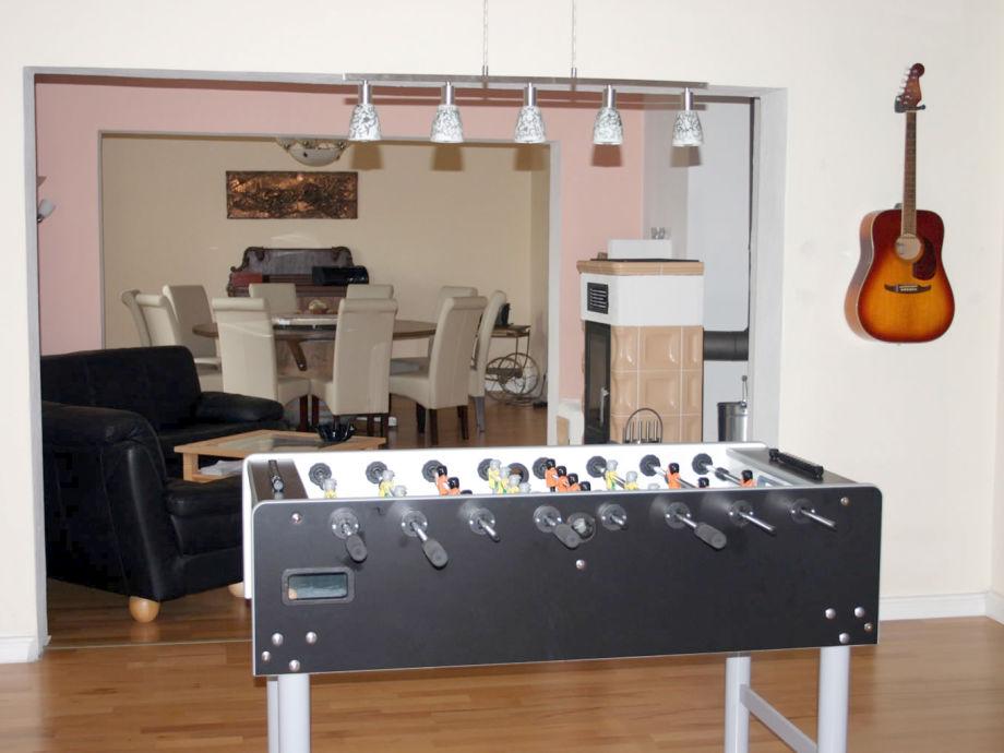 Kickerraum - Kaminzimmer - Esszimmer