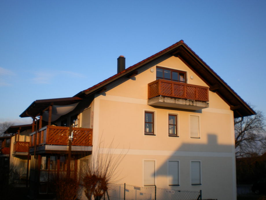 Sonniger Ost-Balkon
