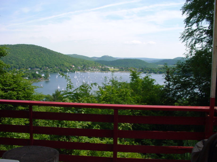 Seeblick auf der Terrasse