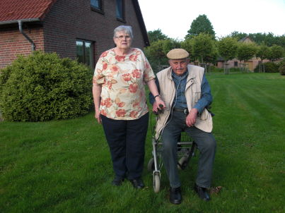 Ihr Gastgeber Hans-Willi und Erna Behmer
