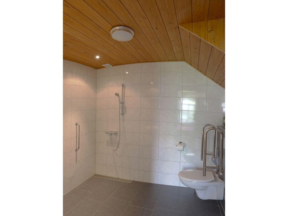 Das Badezimmer, auch für Behinderte