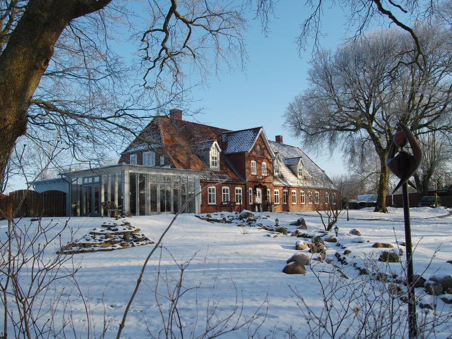 Unser Anwesen im Winter