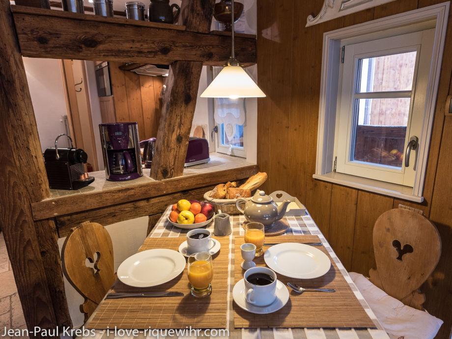ferienwohnung der kleine wolf elsass colmar familie martine jean paul krebs. Black Bedroom Furniture Sets. Home Design Ideas